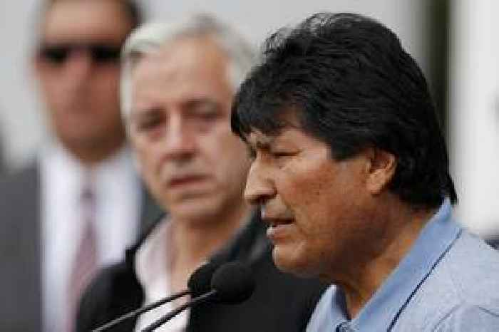 Evo Morales says he fled Bolivia as life was at risk
