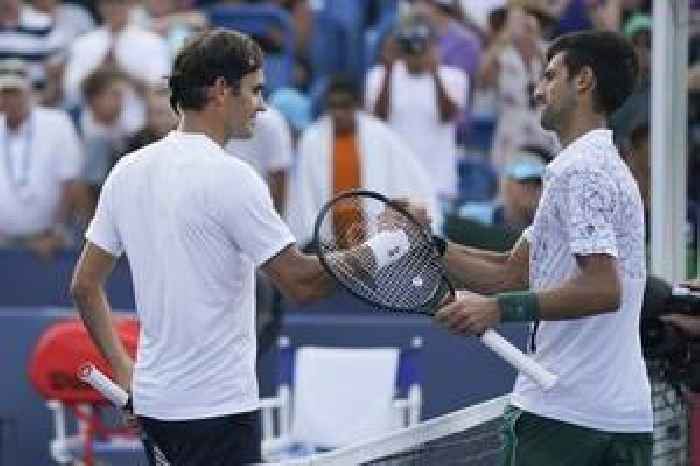 Djokovic's hopes crushed as Federer serves up a masterclass