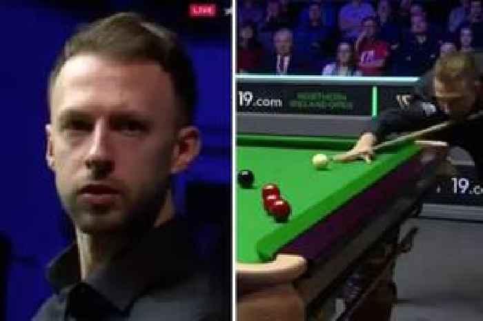 Judd Trump pulls off 'best snooker shot ever' with ridiculous pot