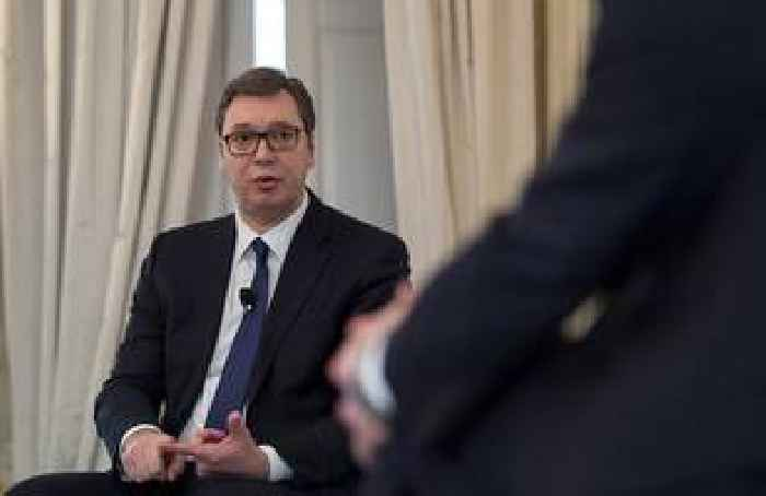 Serbia's president released from hospital