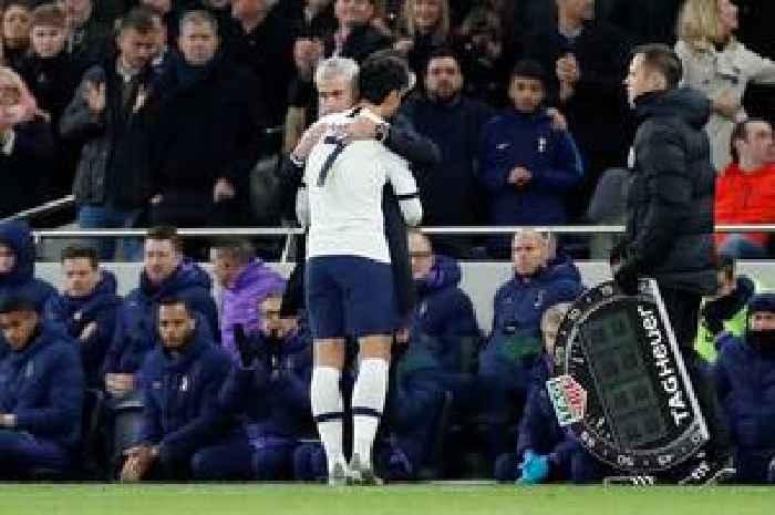 Tottenham's Heung-min Son vows to help Jose Mourinho exact revenge on Man Utd