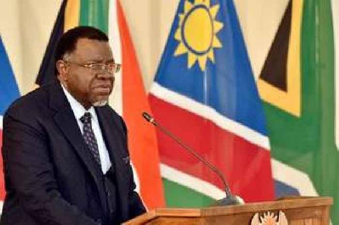 Namibian President Hage Geingob wins second term
