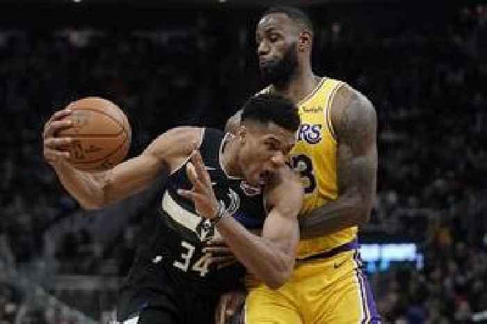 Antetokounmpo, Bucks beat Davis-led Lakers