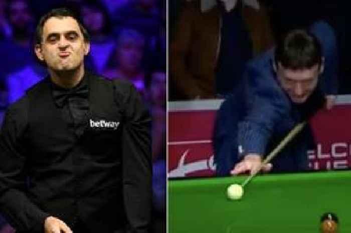 Ronnie O'Sullivan fluke sees Jimmy White flummoxed in snooker hero's attempt