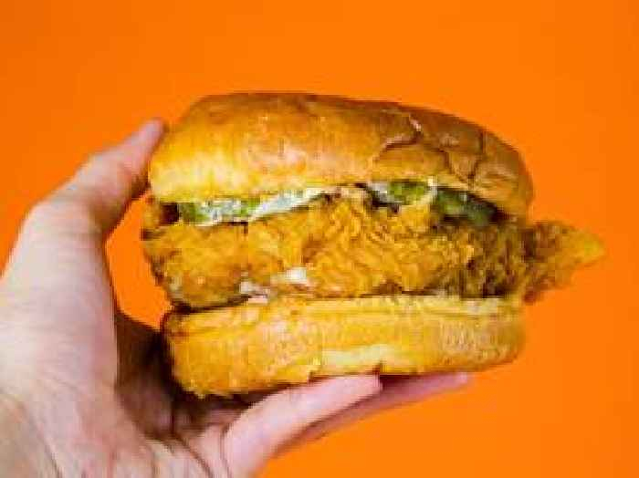The fast-food menu item of the year is the Popeyes chicken sandwich