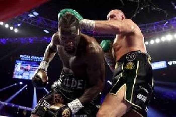 tyson fury fight - photo #21