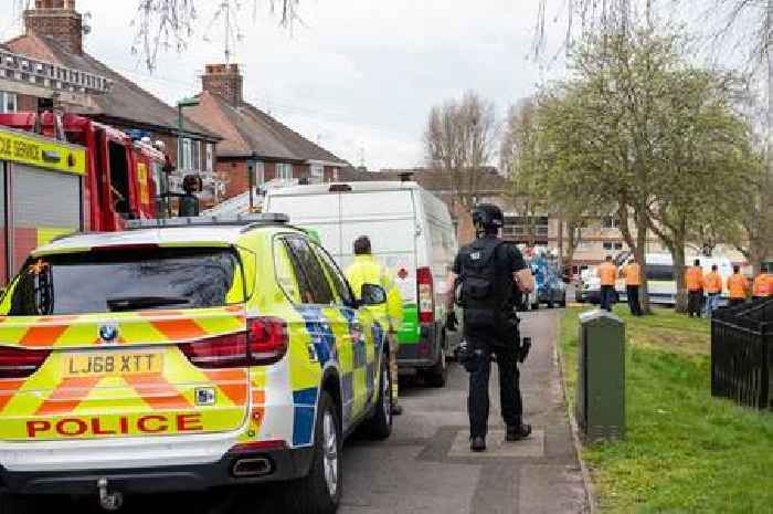Man treated by medical staff following large police incident in Bulwell