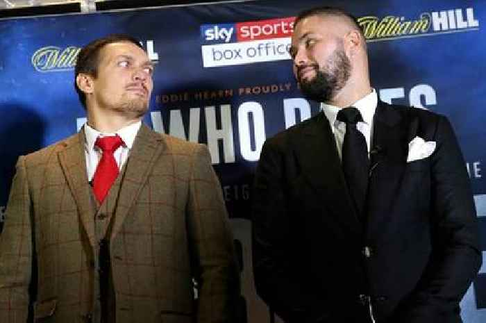 Anthony Joshua and Tyson Fury backed to pass Oleksandr Usyk test by Tony Bellew