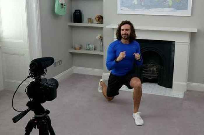 Joe Wicks 'super grateful' to the NHS after hand surgery