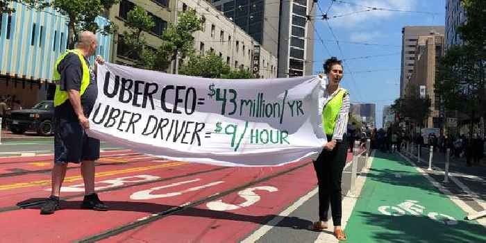 California is suing Uber and Lyft, accusing the ride-hailing companies of misclassifying their drivers (UBER, LYFT)