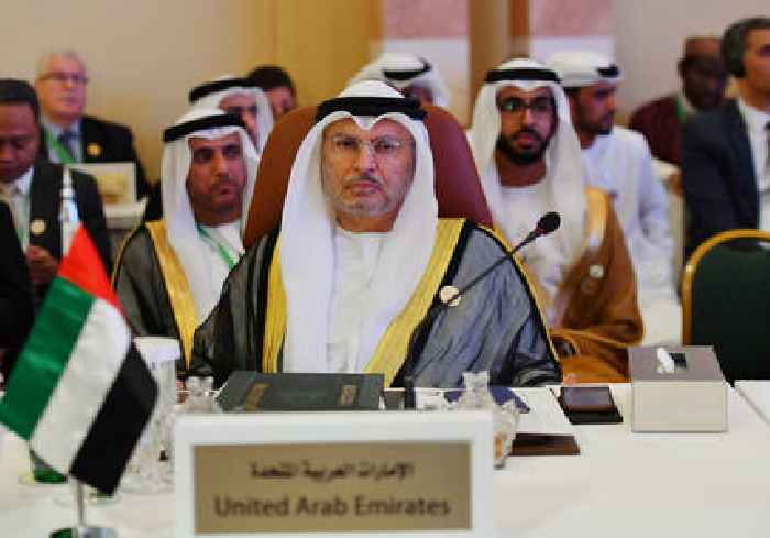 UAE's Gargash: Israel rejecting peace with Arab world with annexation talk