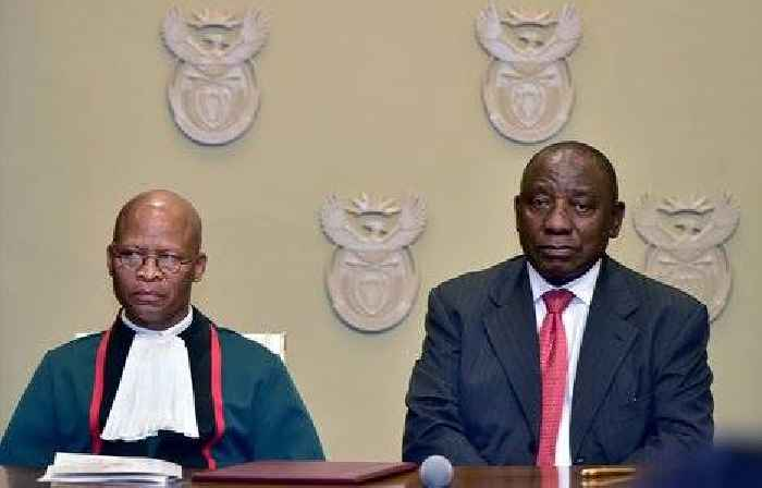 Chief Justice Mogoeng must resign if he stands by his remarks supporting apartheid Israel, says ...