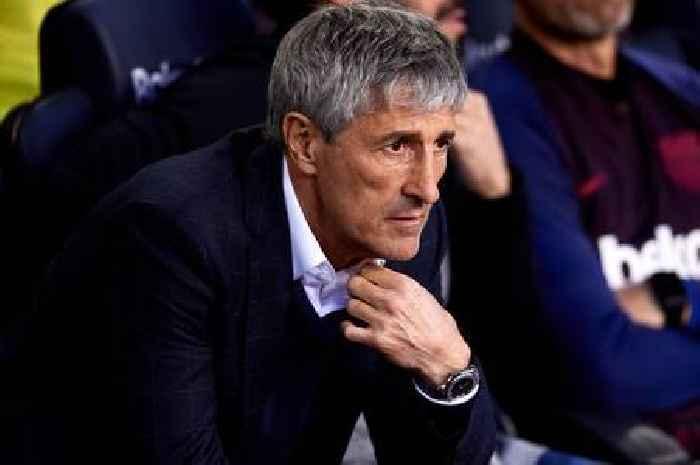 Fans call for Quique Setien dismissal after Barcelona announce €82m Arthur sale