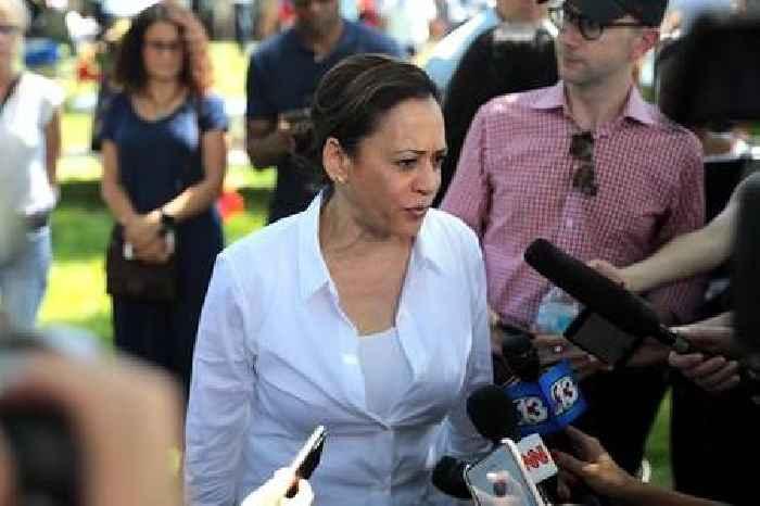 Spoiler alert? Kamala Harris outed as Biden's VP pick, maybe