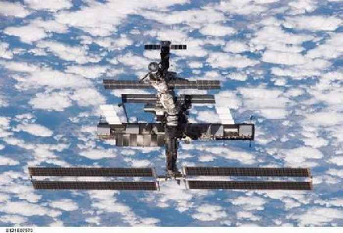 The International Space Station Has Sprung Another Leak