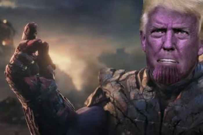 Colbert Compares Trump to Thanos in 'Avengers: Endgame' RNC Parody (Video)