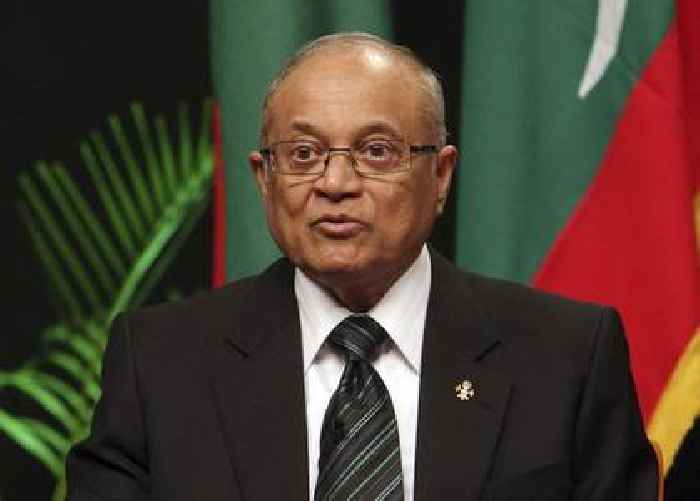 Former president among infected as COVID-19 cases cross 7,000 in Maldives