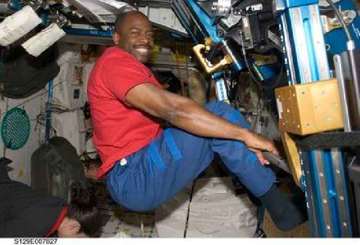 Former NASA astronaut Leland Melvin was never afraid to go to space. But a police stop made him sweat