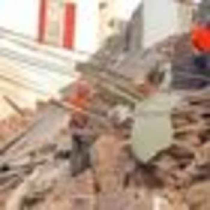 Possible human heartbeat detected under rubble from Beirut explosion
