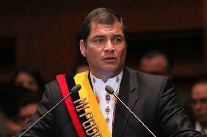Ecuador court rejects motion to overturn Correa's sentence in bribery case