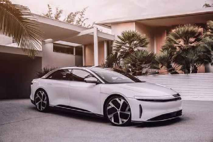 The Lucid Air Is A Luxury Electric Sedan With The Speed