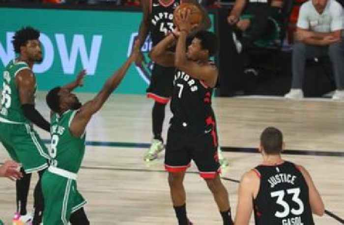 Nick Wright reacts to Raptors double-OT win over Celtics to force a Gm 7 | FIRST THINGS FIRST
