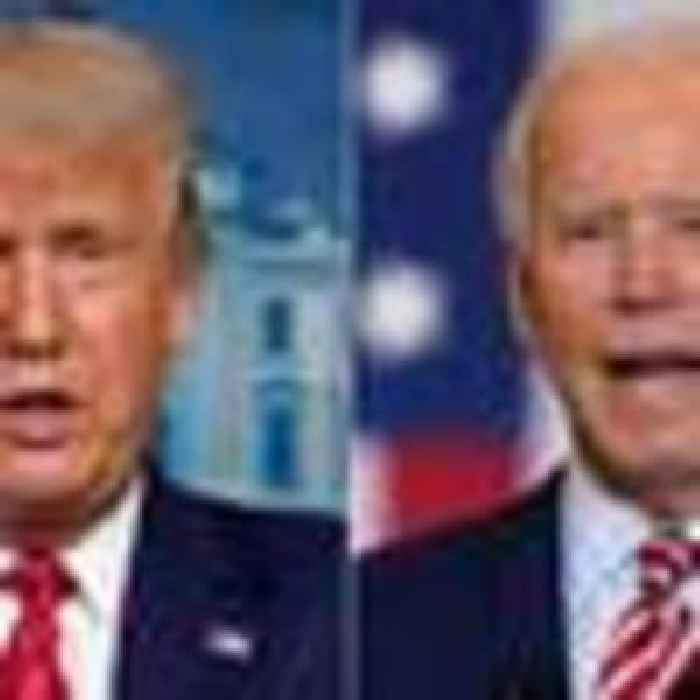 Conspiracy about Joe Biden 'earpiece' explodes before ...