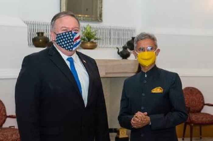 Mike Pompeo attacks China, Rajnath Singh says 'challenged by reckless aggression'