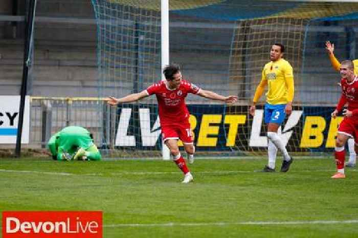 Torquay United 5 Crawley Town 6 - Gulls' FA Cup run ends after 11 goal thriller