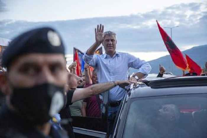 Kosovo ex-president Thaci pleads not guilty to war crimes charges