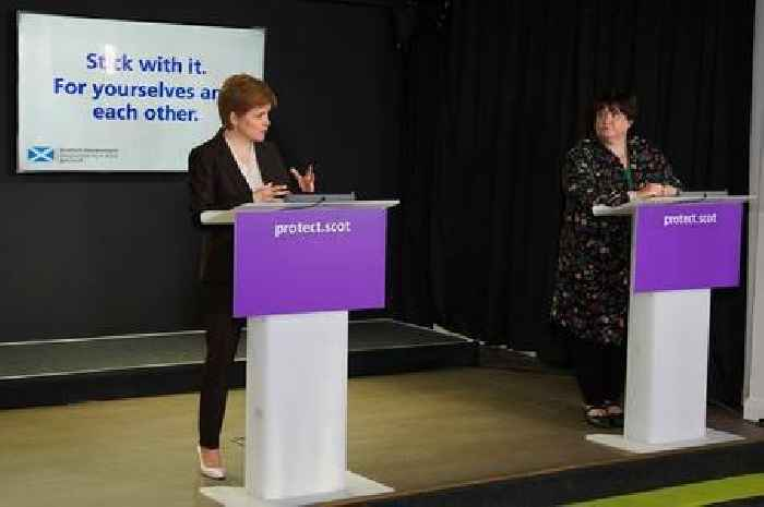 Most Scots think Nicola Sturgeon is 'handling pandemic well', new survey finds