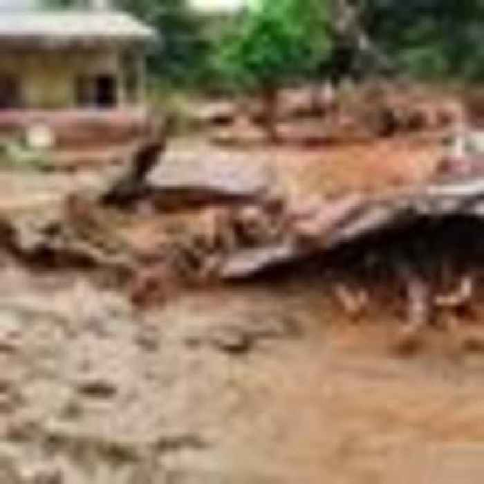Two-year-old among more than 40 people killed in floods and landslides in Indonesia and East Timor