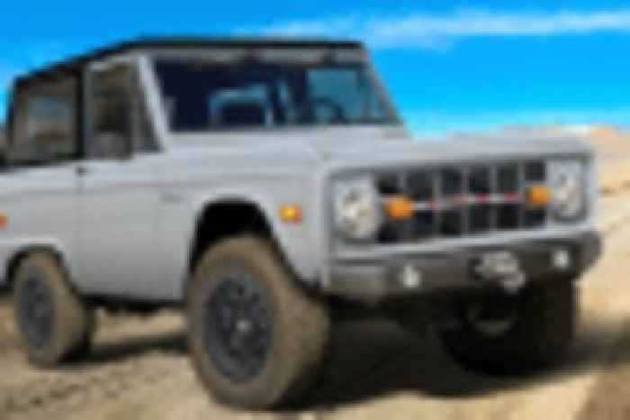 Classic Recreations launches resto-mod Bronco builds