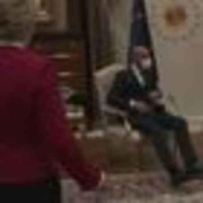 Ursula von der Leyen snubbed in awkward chair situation at meeting with Turkish president