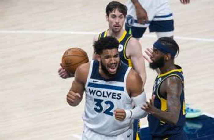 Lackluster first half dooms Timberwolves in 141-137 loss to Pacers