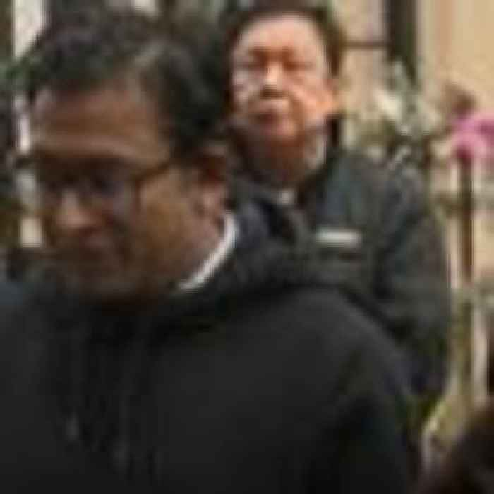 Myanmar ambassador 'spends night in his car' after he was locked out of embassy