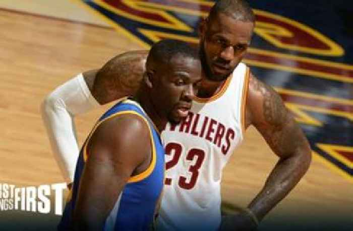 Nick Wright: 'Draymond calling KD to save him from LeBron is one my favorite stories of all time' | FIRST THINGS FIRST