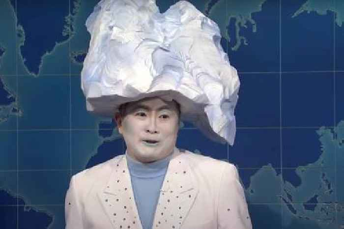 'SNL': Bowen Yang Defends Sinking the Titanic – As the Iceberg That Sank the Titanic (Video)