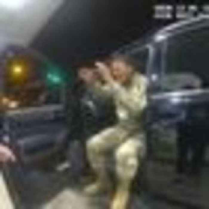 US army lieutenant suing two police officers after he is pulled over and pepper sprayed