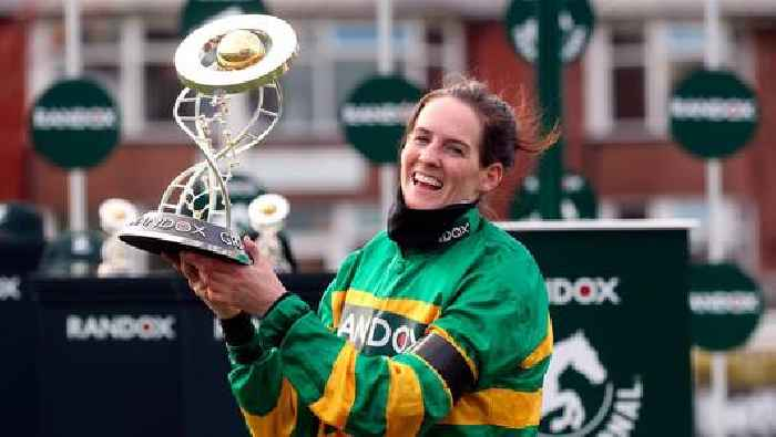 'Inside we're jumping up and down with delight': Rachael Blackmore's parents thrilled after daughter's Grand National win