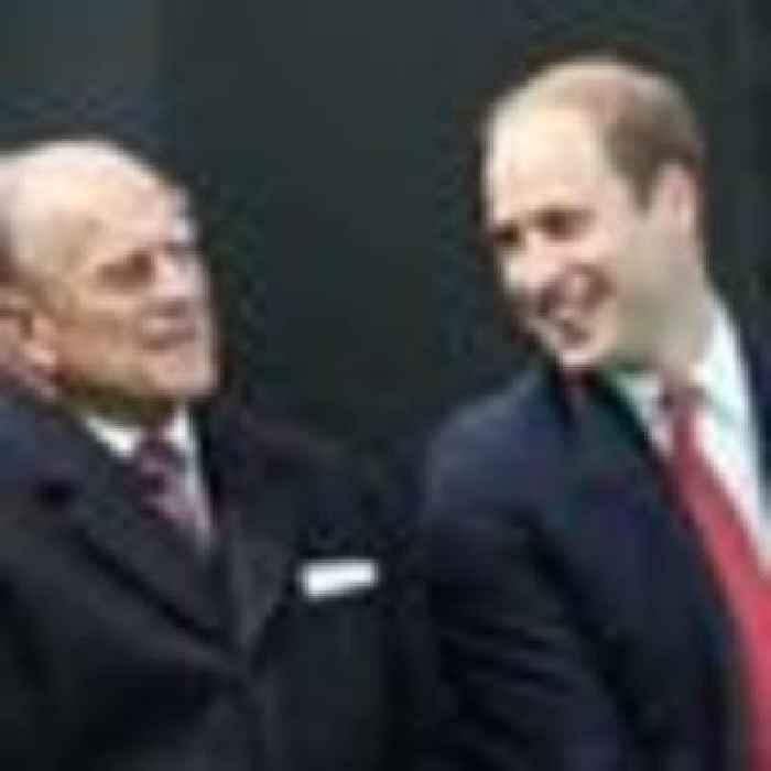 'I will miss my Grandpa': William pays tribute to 'extraordinary' Duke of Edinburgh