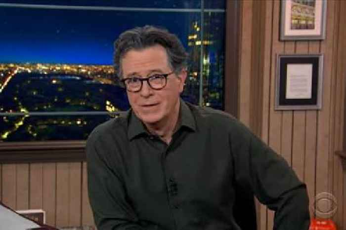 Colbert Cops to Not Saying Trump's Name Since November: 'Guilty as Noticed' (Video)