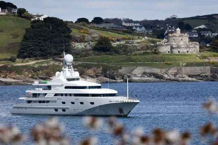Superyachts bring party bars, cinemas and golf helipad to harbour