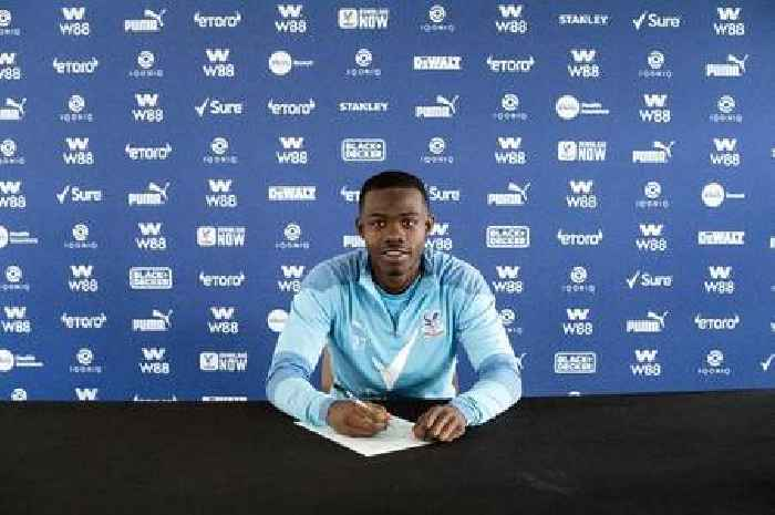 Tyrick Mitchell signs new Crystal Palace contract as club looks to future