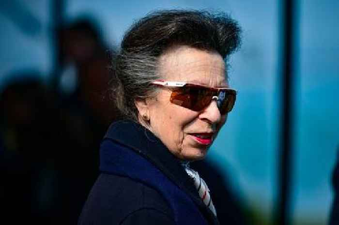 Princess Anne appears in public for first time since father died