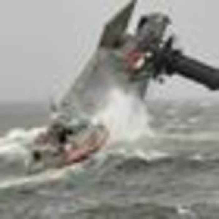 Six people rescued and more missing after boat capsizes offLouisiana coast