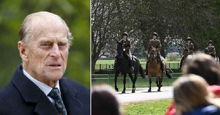 The Royals Prepare For Prince Philip's Funeral With Rehearsal At Windsor Castle — Photos