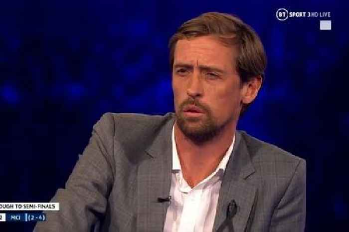 Peter Crouch forgets his own Champions League record in live TV gaffe