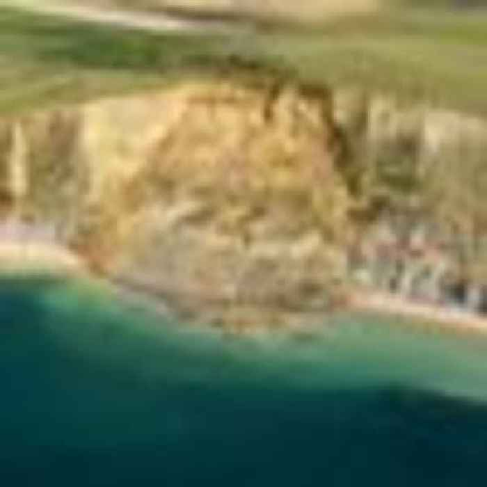 Warnings issued in Dorset after 300m stretch of Jurassic Coast falls into sea