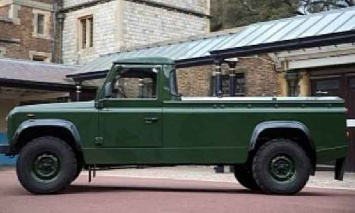 Here Is the Land Rover Defender Prince Philip Helped Design for His Own Funeral